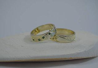 Prstene - Slzy šťastia pre oboch - 5075793_