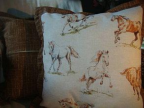 Úžitkový textil - Vankúš kone - 5078670_