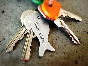Kľúčenky - FISHERMAN'S FRIEND / rybka pre úspešný lov :) - 5078318_