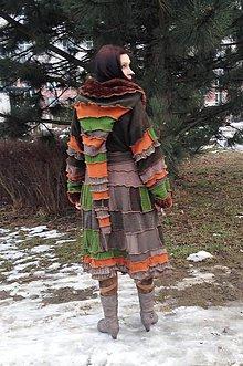 Iné oblečenie - lel ,,svetrohrej patchwork sveter - 5075148_