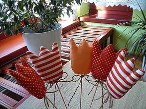 Dekorácie - tulipán - terakota - 5078665_