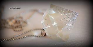 Náhrdelník Strieborný diamant (1706 A)