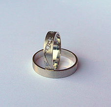 Prstene - zlaté svadobné - 5077070_