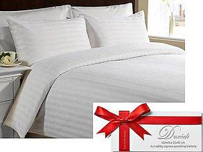 Úžitkový textil - Klasická damašková posteľná bielizeň. - 5076246_