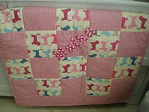 Úžitkový textil - Dečka na želanie pre Maťku - 5077015_