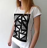 Tričká - black&white /S - 5076852_