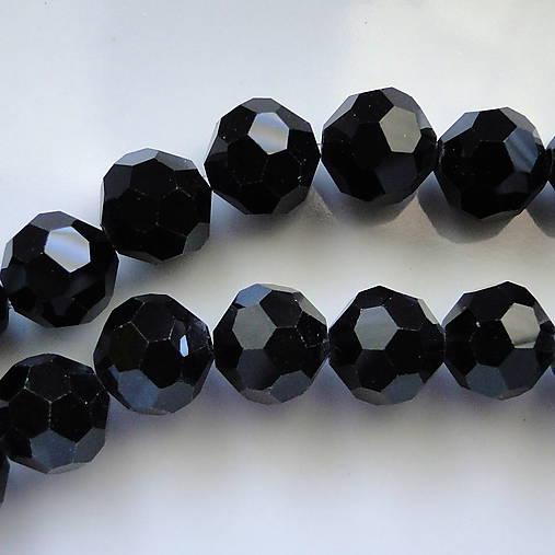Sklenené brús.korálky DISCO 10mm-1ks