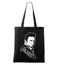 Nákupné tašky - taška Johnny Cash - 5080846_