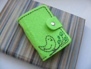 Peňaženky - Obal na doklady - Na konári - 5079794_
