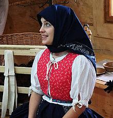 Iné oblečenie - Zdobený ženský lajblík - 5082714_