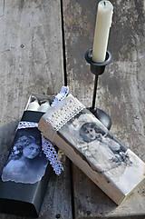 - Vintage krabička sviečok - 5083664_