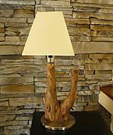 Svietidlá a sviečky - Stolová lampička - Predaná - 5083278_