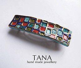 Ozdoby do vlasov - Tana šperky - keramika/zlato - 5085624_