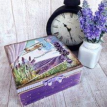 Krabičky - Levanduľovááá - 5084996_