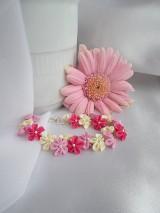 - V romantických farbách náramok - 5085179_