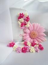 - V romantických farbách náušnice - 5085233_