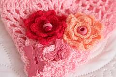 Detské čiapky - ružová jarná - 5084916_
