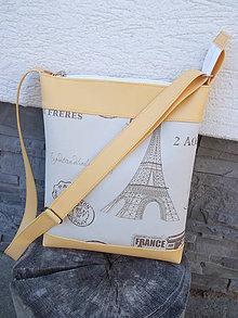 Kabelky - Slnečný Paríž - 5083180_