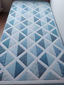 Úžitkový textil - Modré sníčky - 5085705_