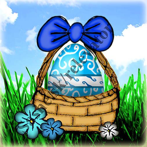 Veľkonočné vajíčko v košíčku 3