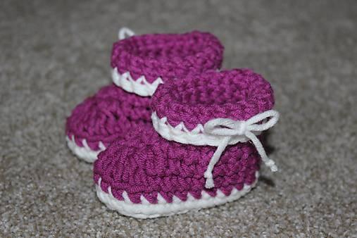 3100733e1bf0 Návod na háčkované čižmičky   DomiCrochet - SAShE.sk - Handmade ...