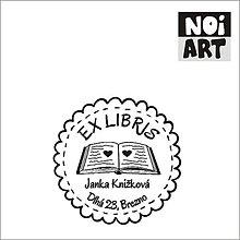 Nezaradené - Pečiatka EX LIBRIS s knihou - 5089453_