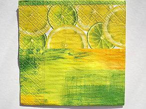 Papier - Servítka malá Citrusy - 5087307_
