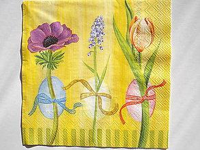 Papier - Servítka Veľkonočné kvety - 5087432_