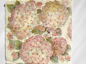 Papier - Servítka Staroružová Hortenzia - 5087499_