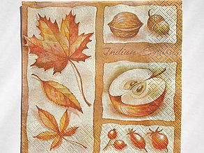 Papier - Servítka Jesenné plody - 5087506_