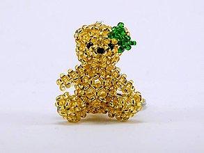 Kľúčenky - Zlatá medvedica - 5087262_