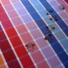 Úžitkový textil - PESTRÉ BERUŠKY - ubrus 140x140 - 5090142_