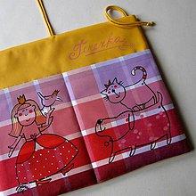 Textil - PRINCEZNA TEREZKA - kapsářek - 5090189_