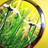 Zrkadielka - v létě na louce - text na přání - 5090919_