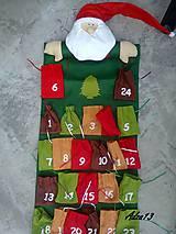 Dekorácie - Adventný kalendár - 5095109_