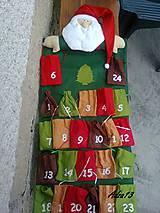 Dekorácie - Adventný kalendár - 5095112_