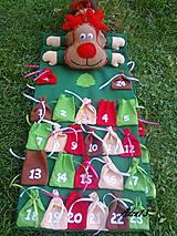 Dekorácie - Adventný kalendár - 5095117_
