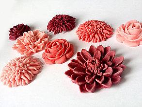 Drobnosti - Kvety na cupcakes 8 ks - 5096014_