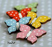 Magnetky - Motýlik mini - 5094703_