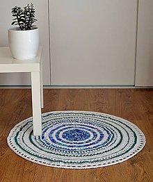 Úžitkový textil - Okrúhly bavlnený koberec - 5094673_