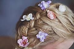 """Ozdoby do vlasov - Vlásenky """"vlasy plné kvetín"""" - 5095624_"""