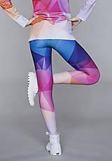 Nohavice - Crystal rainbow - legíny - 5095350_