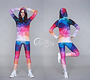 Nohavice - Crystal rainbow - legíny - 5095352_