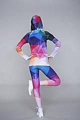 Nohavice - Crystal rainbow - legíny - 5095356_