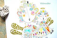 Kresby - láska - 5091571_