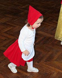 Detské oblečenie - kostým červená čiapočka - 5094456_