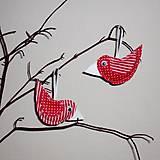Dekorácie - vtáčik jarný - 5099611_