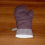Úžitkový textil - chňapka rukavička - 5100012_