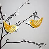 Dekorácie - vtáčik jarný - 5100249_