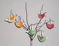 Dekorácie - vtáčik jarný - 5100286_
